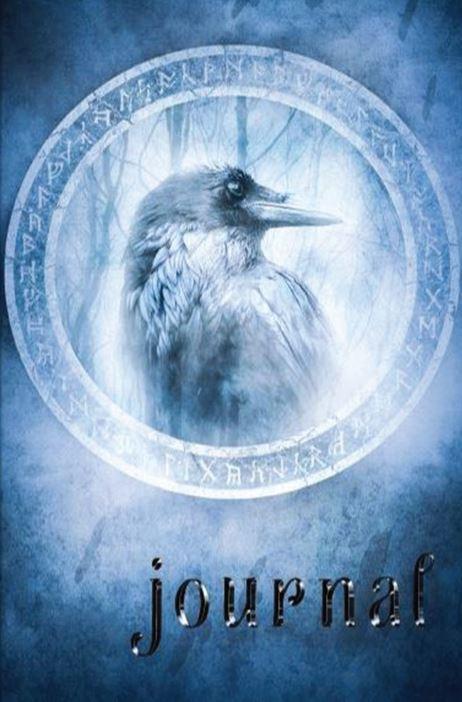 Skorias Journal blue raven 250pp cover snip